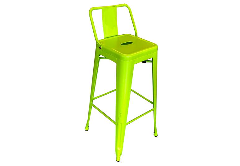 Bar-Tresen-Hocker Sarah - super-günstig, knallhart reduziert (Tresenhocker, Barhocker, Tresenstühle, Gastro- / Event-Stühle: hellgrün, knallgelb, dunkel-grau)