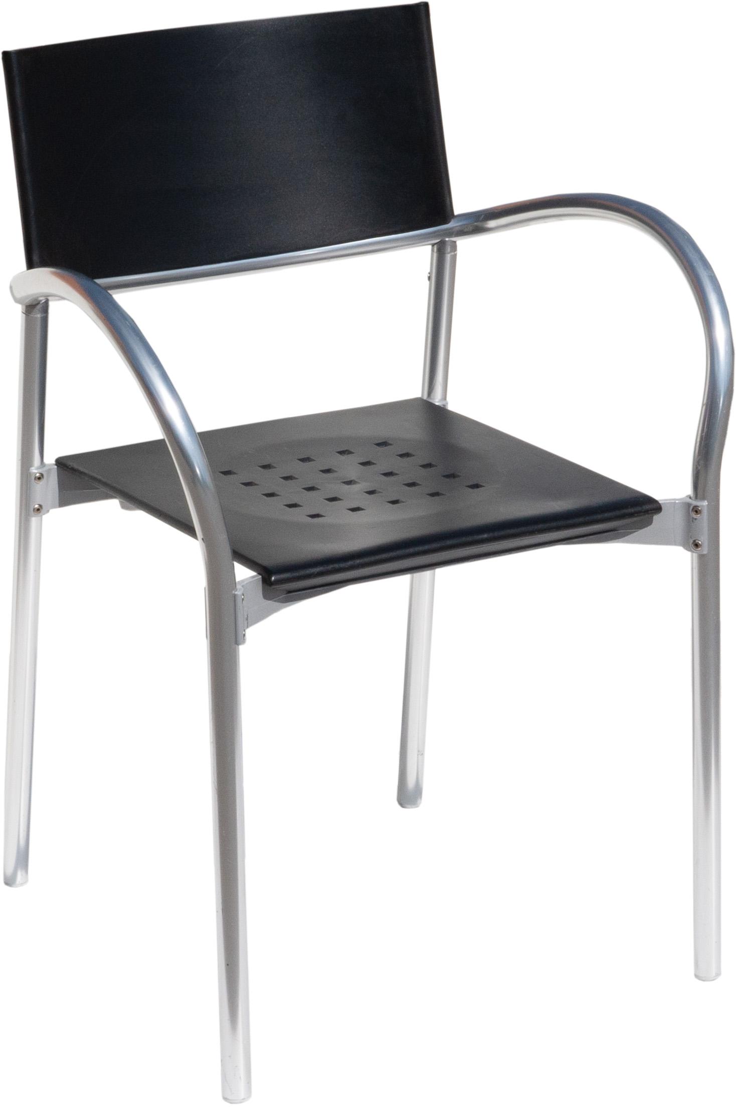 BREEZE Stapelstühle (Designer-Stühle, Segis, bis zu 13 Stühle stapelbar, Outdoor / für Außen geeignet, Carlo Bartoli)