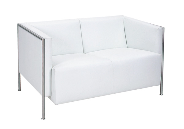 TEMPEST Sofa 2-Sitzer (Echtleder)