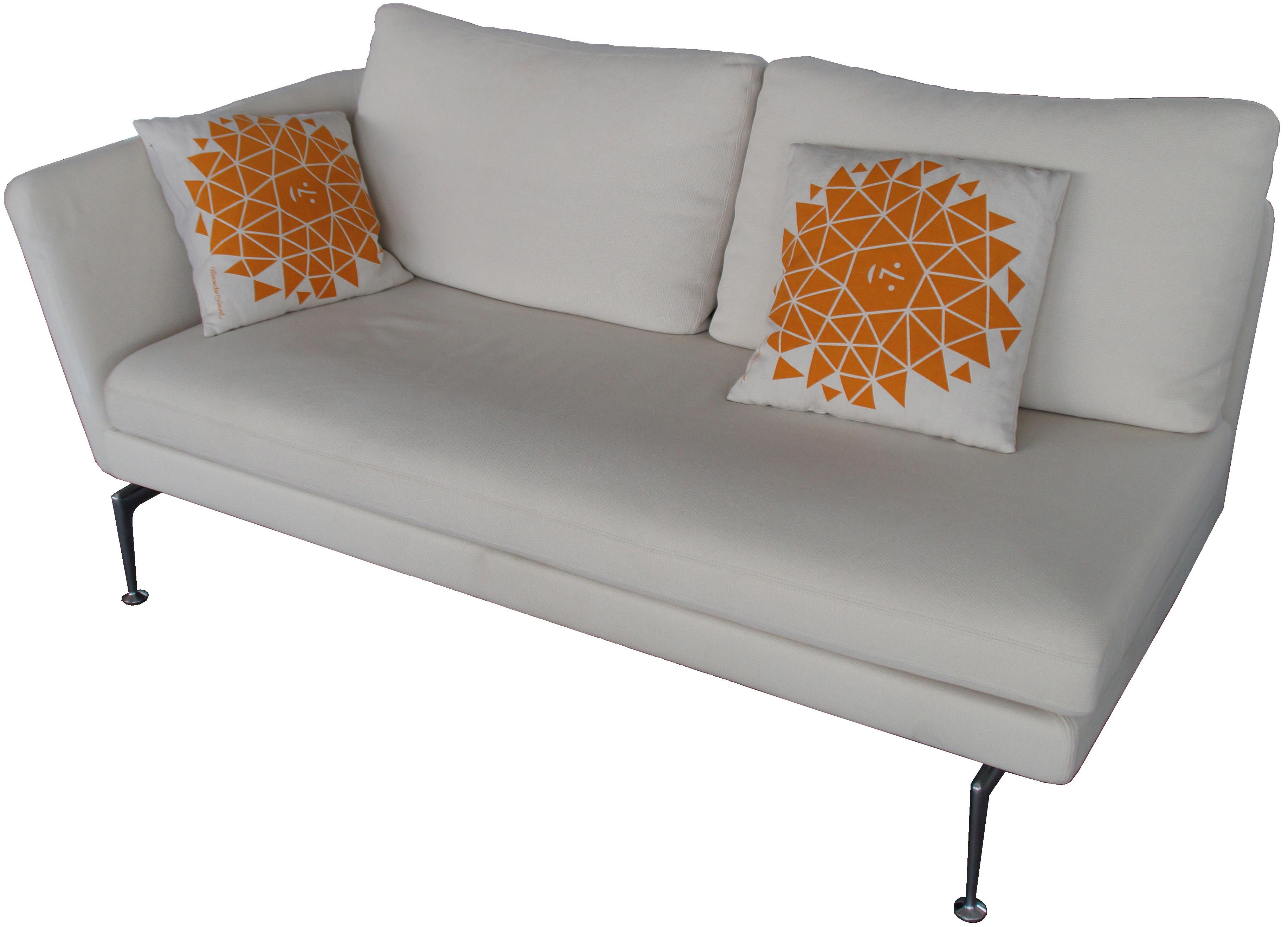 SUITA 2-Sitzer Sofa VITRA mit Armlehne links