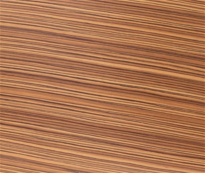 Zebrano Stuhl, Esszimmerstuhl (Restaurant-Stühle für Gastro, Kantine, Bar, Bäckerei, Konditorei - mit Rückenlehne, stapelbar, Buche, Buchenfurnier)