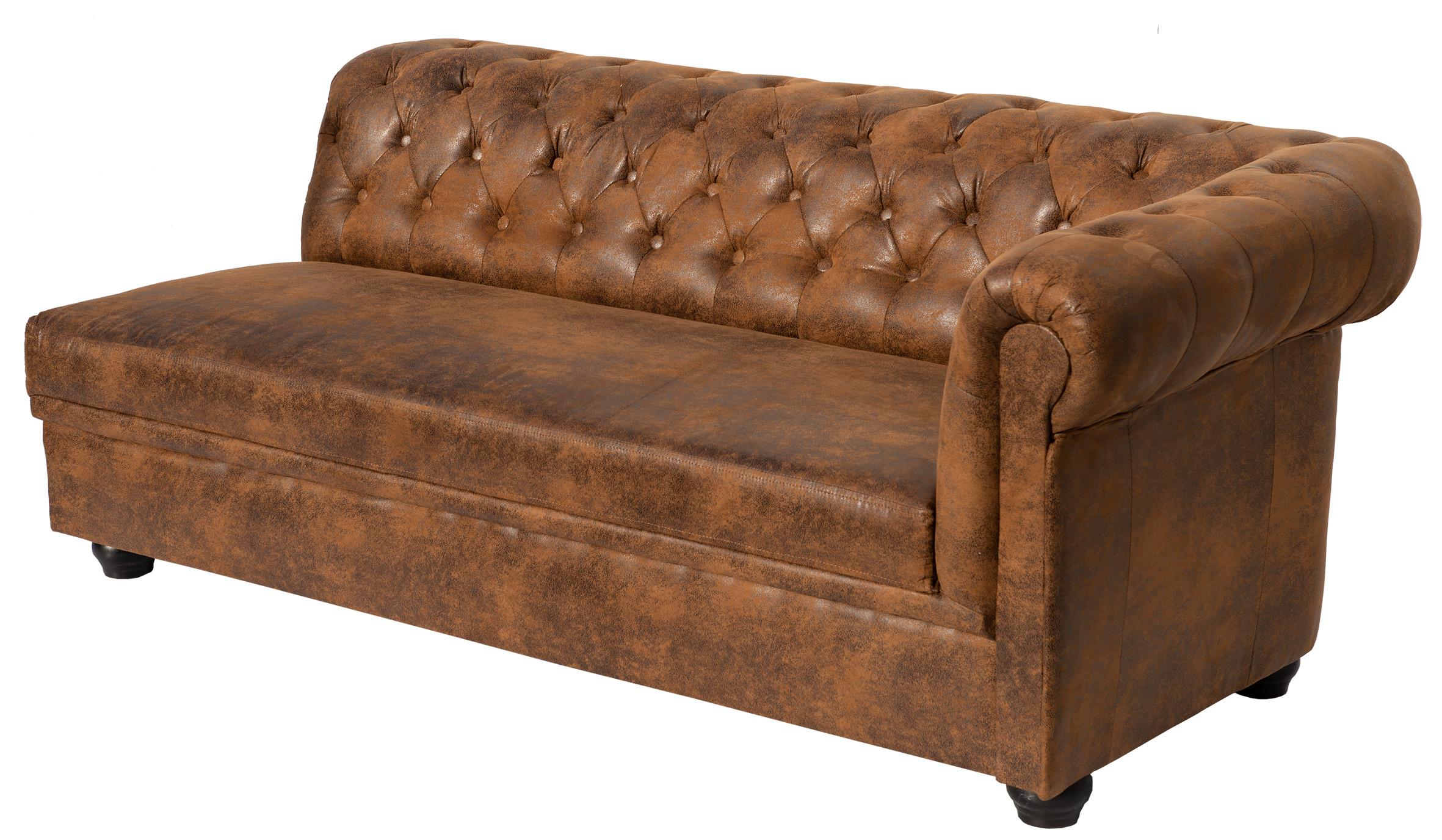 CHESTERFIELD Sofa 3-Sitzer rechts R3