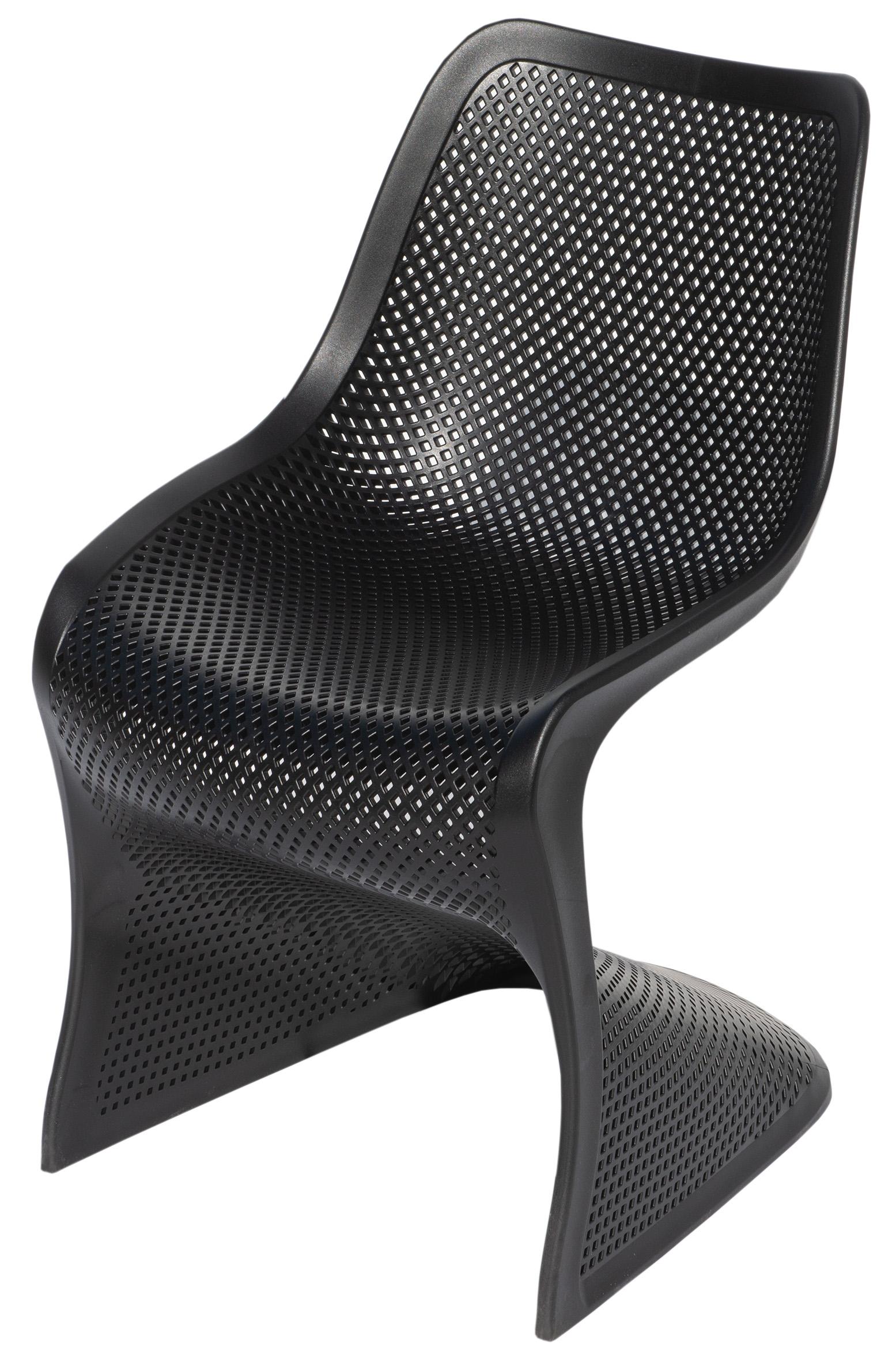 Outdoor-Stuhl BLOOM: innovatives Design, für Innen & Außen, wetter-/UV-beständig, stapelbar (Stapelstühle) - MEGA-reduziert für den Sommer 2021