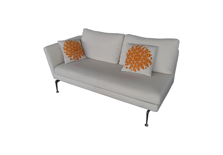 SUITA 2-Sitzer Sofa offen Armlehne rechts