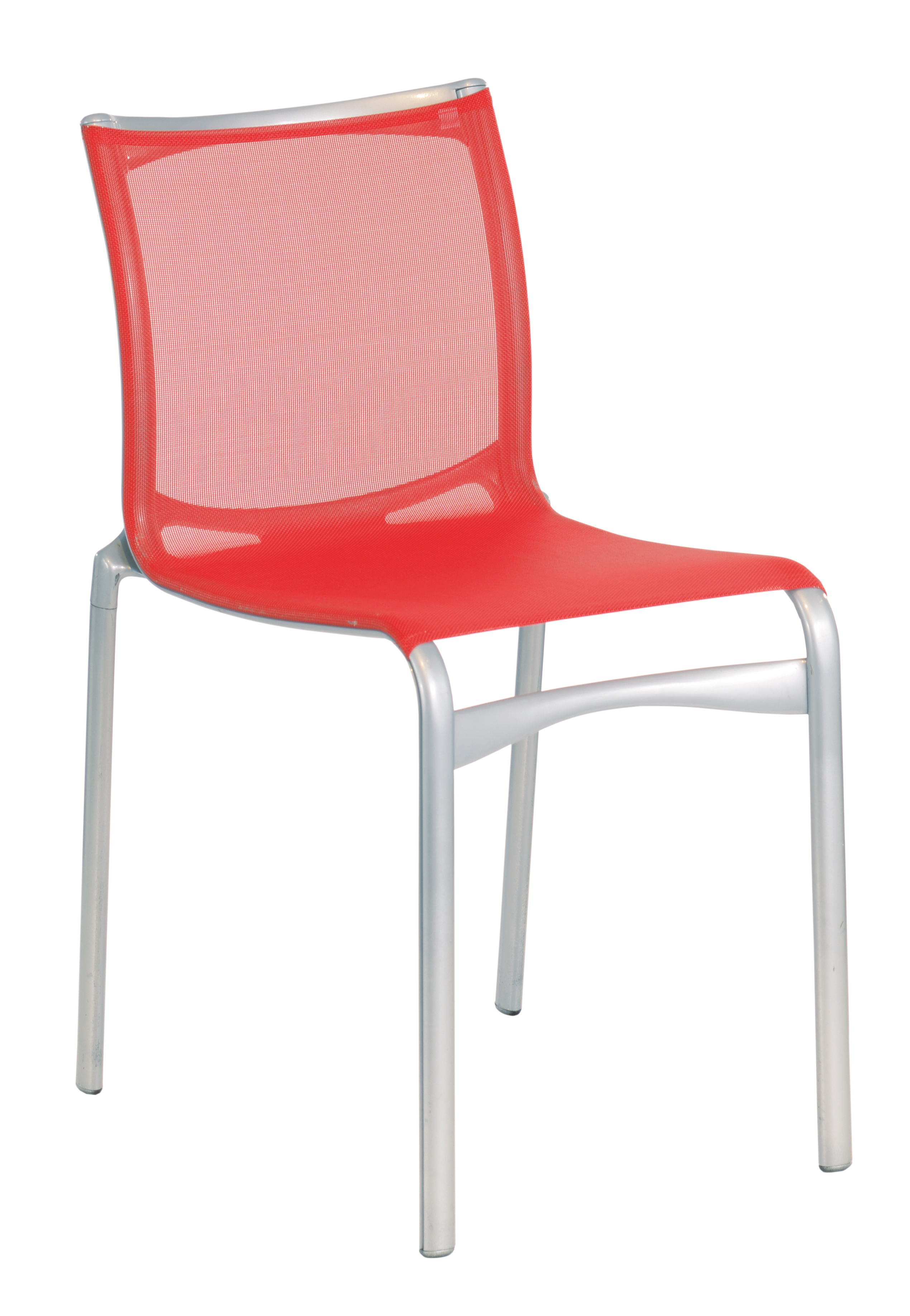 Design-Stuhl Highframe 40/416 (Indoor, Outdoor, Alias - Netzstuhl, stapelbar) - MEGA-reduziert!