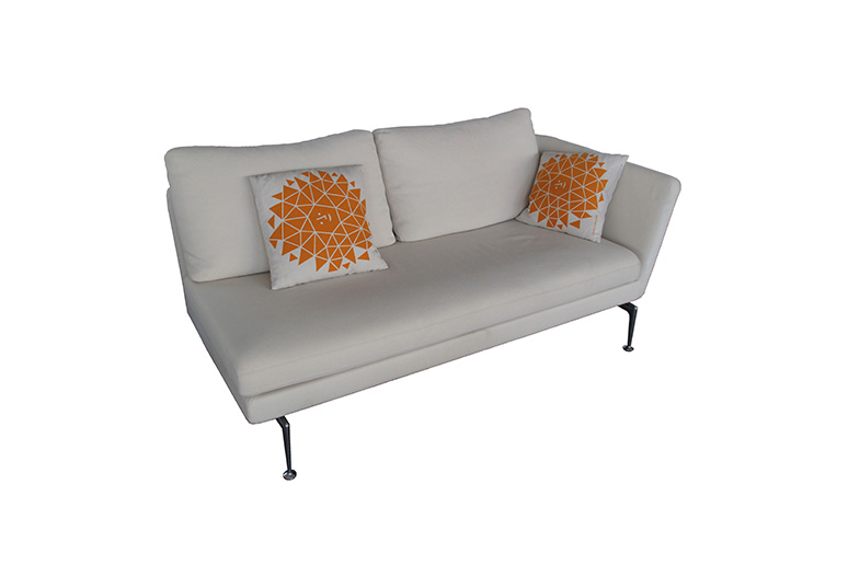 SUITA 2-Sitzer Sofa offen Armlehne links