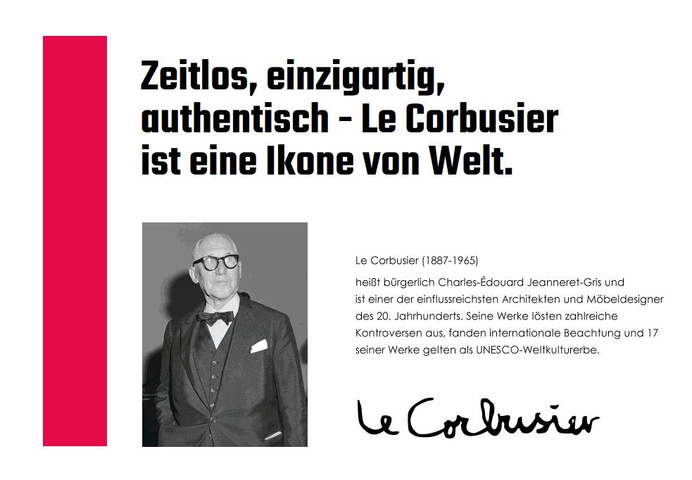 LC2 Poltrona (Le Corbusier, Cassina, Sessel - das Original!)